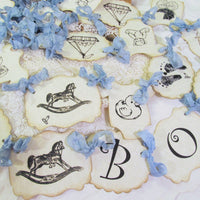 It's a Boy Baby Vintage Shower Decorations Package Bundle Kit
