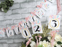 It's a Girl Watercolor Floral Boho Baby Shower Decorations Package