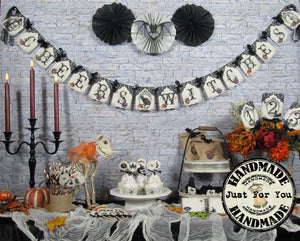 Cheers Witches Halloween Bridal Shower Decorations for the Future Mrs.