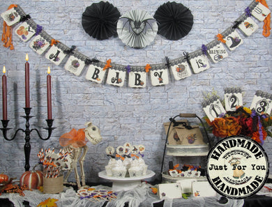 A Baby is Brewing Halloween Baby Shower Decorations Package