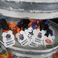 Halloween Baby Shower Favor Tags
