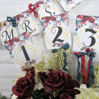 Winter Roses Bridal Shower Decorations Bride to Be She Said Yes Christmas