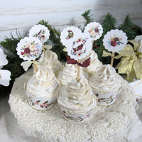 Winter Roses Baby Shower Decorations  Its a Boy Girl Twins