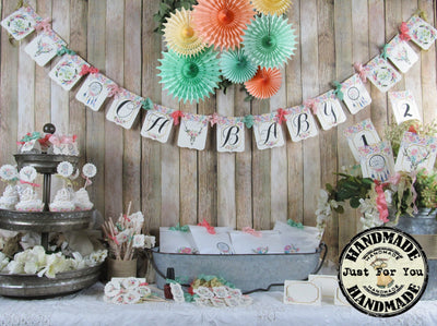 Boho Baby Shower Decorations