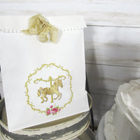 Carousel Horse Birthday or Baby Shower Decorations Package - Custom Banner Garland