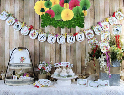 Tropical Shower Party Decorations