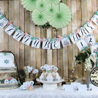 Succulent Cactus Bridal Shower Decorations