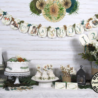 Woodland Forest Animal Baby Shower Decorations