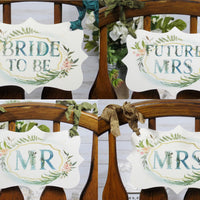 Woodland Forest Animal Wedding or Bridal Shower Decorations - Just Married