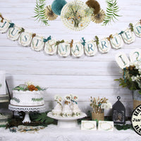 Woodland Forest Animal Bridal Shower or Wedding Decorations