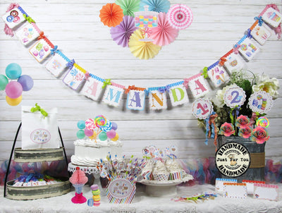 Candy Party Sweet Shop Birthday Decorations