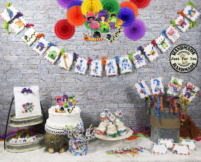 Monsters Birthday Party Decorations