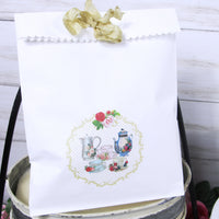 Roses Vintage Tea Party Shabby Baby Shower - A Baby is Brewing