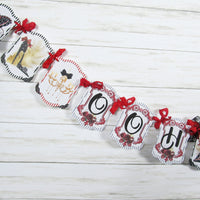 Ooh La La Red Black Corset Shoes Lingerie Shower Decorations