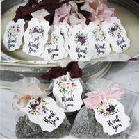 Blush Pink Burgundy Floral Baby Shower Decorations Package