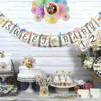 Easter Spring Floral Baby Shower Decorations Package