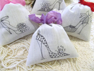 High Heel Shoes Lavender Sachets