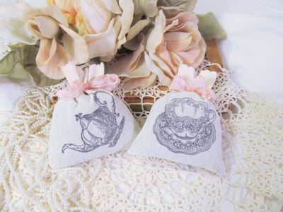 Tea Party Lavender Sachet Favor