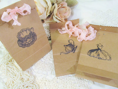 Bridal Tea Favor Gift Bags