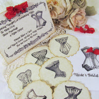 Corset Lingerie Bridal Shower Game
