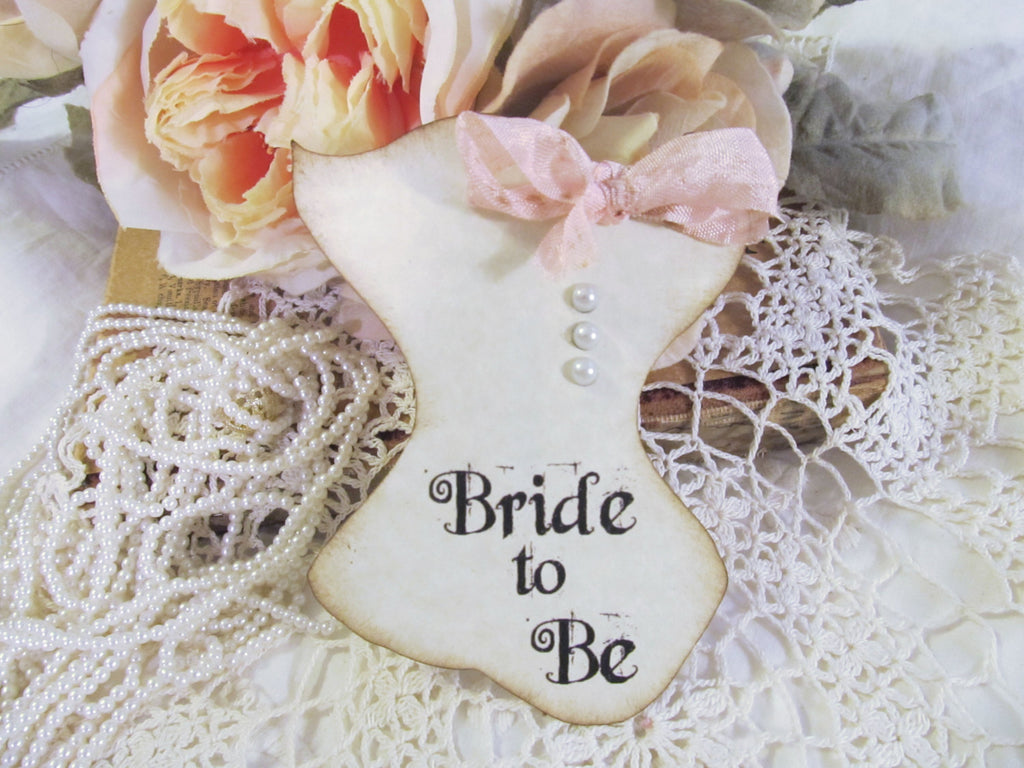 Bridal Lingerie Shower Corsage Pin