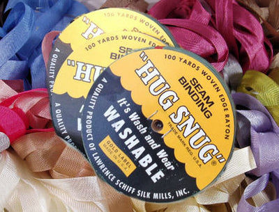 Vintage Seam Binding Ribbon By the Roll - Hug Snug 100 Yards