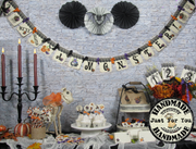 We've Created a Monster! Halloween Baby Shower Decorations Package