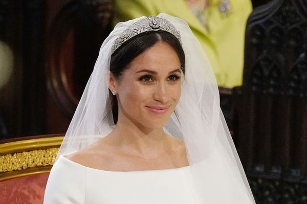 Fit for a Princess! Create Meghan's gorgeous natural bridal look