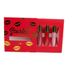 Scarlett Lip Trio Set