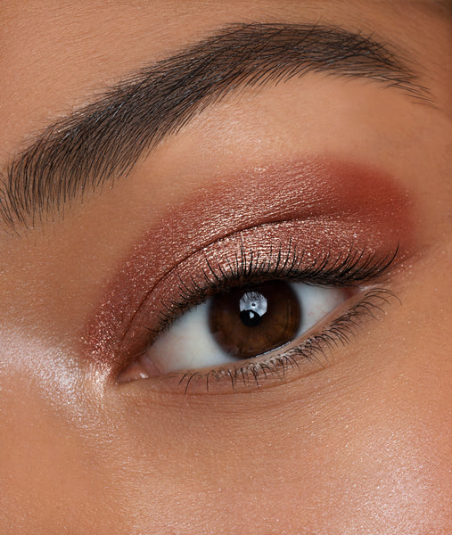 Glitter Chrome Eyeshadow - Rose Gold