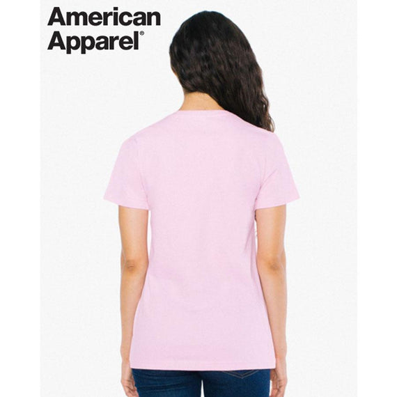 American Apparel 2102W Women's Fine Jersey Short Sleeve T-Shirt