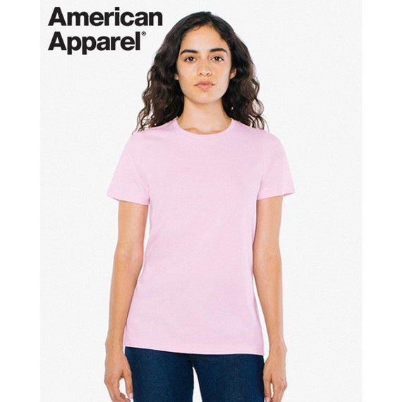 Image of American Apparel T-Shirts, Style Code - 2102W. Contact Natural Art for Screen Printing on this Product