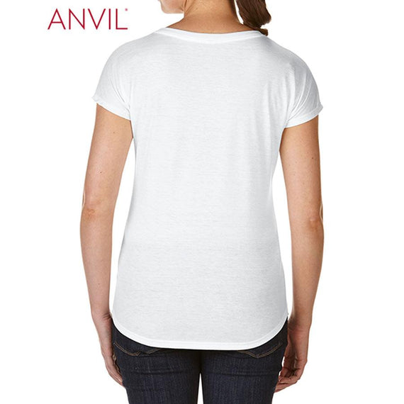 Anvil 6750L Women's Tri-Blend Tee