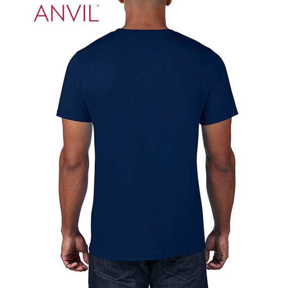 Anvil 790 Adult Black Tee