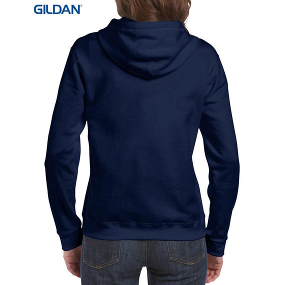 Gildan 18600FL Heavy Blend Ladies' Full Zip Hooded Sweatshirt