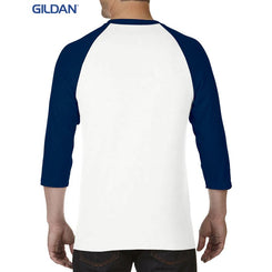 Gildan 5700 Heavy Cotton Adult 3/4 Raglan T-Shirt