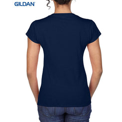 Gildan 64V00L Softstyle Ladies' V-Neck T-Shirt