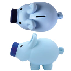 Priscilla Pig (Pink) and Patrick Pig (Blue) Coin Bank