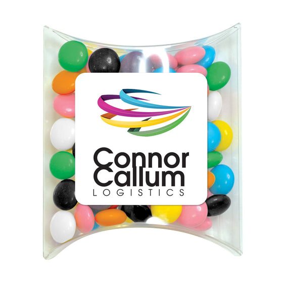 Assorted Colour Choc Buttons  in Pillow Pack