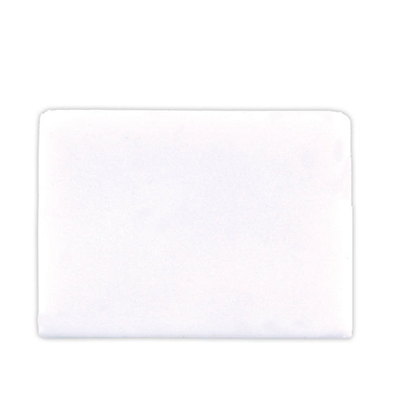 White Rectangular Eraser