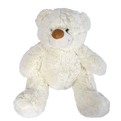 Coconut (White) and Coco (Brown) Plush Teddy Bear