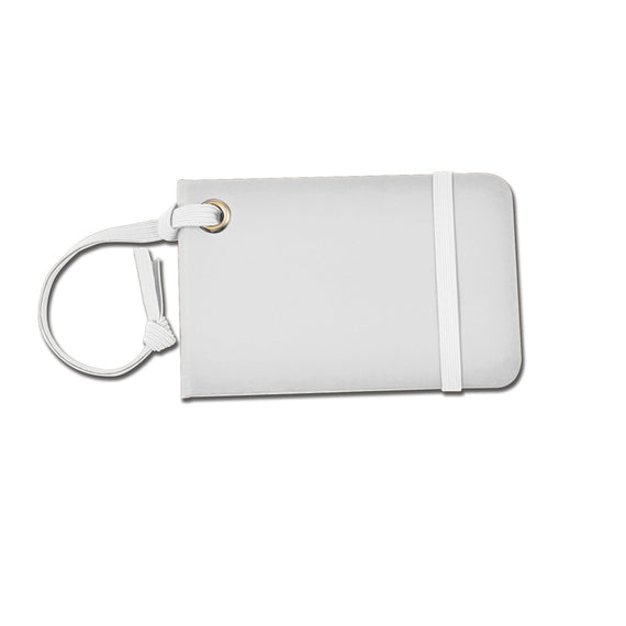 Monaco Luggage Tag with Elastic Strap