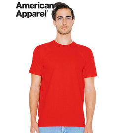 Image of American Apparel T-Shirts, Style Code - 2001W. Contact Natural Art for Screen Printing on this Product