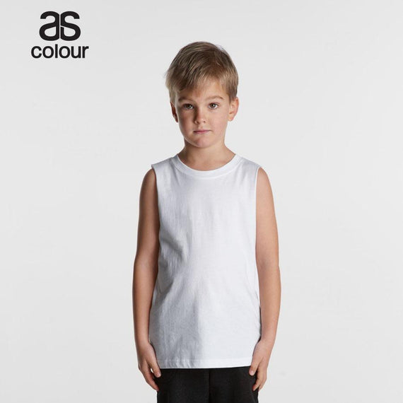 Image of As Colour Tanks & Singlets, Style Code - 3009. Contact Natural Art for Screen Printing on this Product