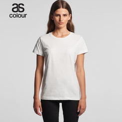 Image of As Colour T-Shirts, Style Code - 4001. Contact Natural Art for Screen Printing on this Product