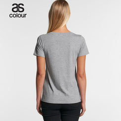 As Colour 4011 Shallow Scoop Tee
