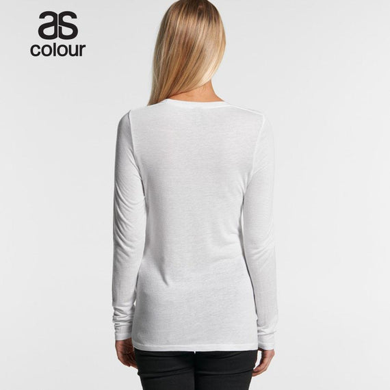 As Colour 4026 Fine Long Sleeve Tee