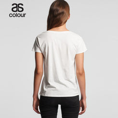 As Colour 4047 Womens La Brea V-Neck Tee