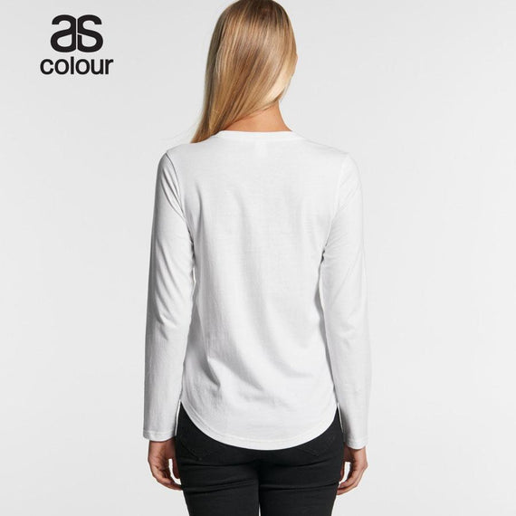 As Colour 4055 Curve Long Sleeve Tee