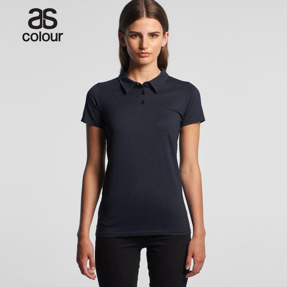 Image of As Colour Polos, Style Code - 4402. Contact Natural Art for Screen Printing on this Product